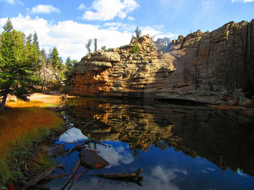 Gem Lake and Balanced Rock